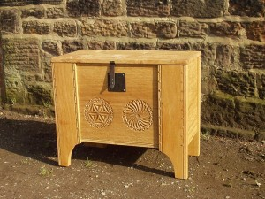 Clamp front chests from £250. This example around £500