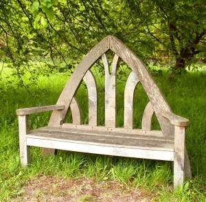Arch bench approximately 6'wide x 5'high £995