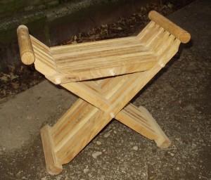 14th/15th century folding stool £175